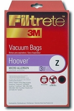 Filtrete 64704 Hoover Z MicroAllergen Bags, 3 Pack