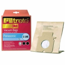 Filtrete 68702 Panasonic C-20E MicroAllergen Bag, 3 Pack