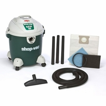 Shop-Vac 58672-00 5.0 HP / 12 Gl. Quiet Plus Wet / Dry Vacuum Cleaner