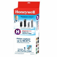 Honeywell HRFH1 True HEPA Replacement Filter for HPA050