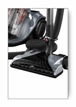 Hoover S3865 Platinum Cyclonic Bagless Canister Vacuum Cleaner with Power Nozzle