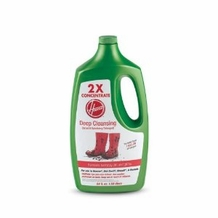 Hoover 2 x Concentrate Deep Cleaning Carpet and Upholstery Detergent : 64 oz