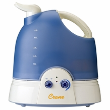 Crane EE-864 Cool Mist Humidifier 2.1 Gallon- Blue