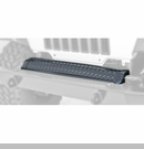 Front Frame Cover, Jeep TJ and LJ (1997-2006), Black