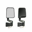 Door Mirror Kit w/LED Turn Signals-Jeep YJ,TJ (1987-2002), Black