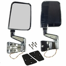 Door Mirrors w/LED Turn Signals, Jeep YJ/TJ (1987-2002) - Chrome
