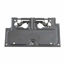 License Plate Bracket, Jeep YJ (1987-1995), Black