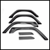 Fender Flare 6-Piece Kit, Jeep TJ (1997-2006), LJ (2004-2006)