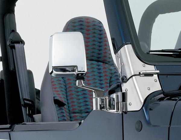 All Things Jeep Half Door Side Mirrors 87 06 Jeep