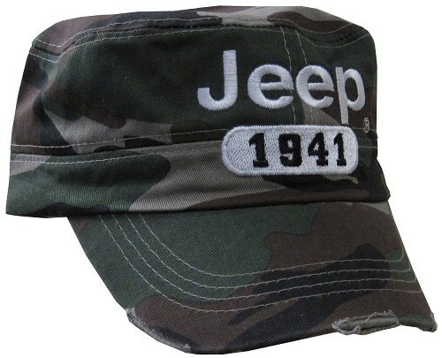 All Things Jeep Jeep Camouflage Cadet Hat