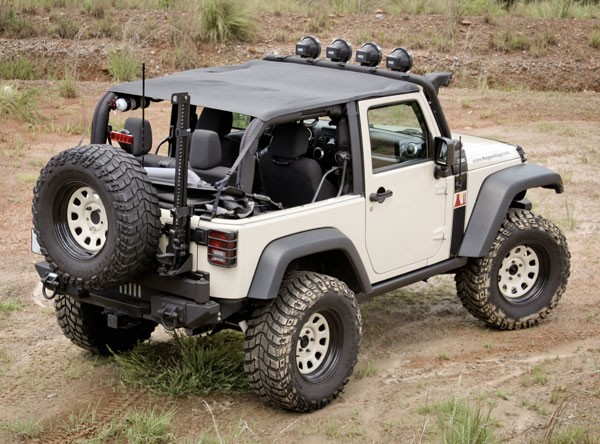 All Things Jeep Pocket Island Topper For Jeep Wrangler