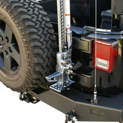 All Things Jeep Rear Hi Lift Jack Mount For Jeep