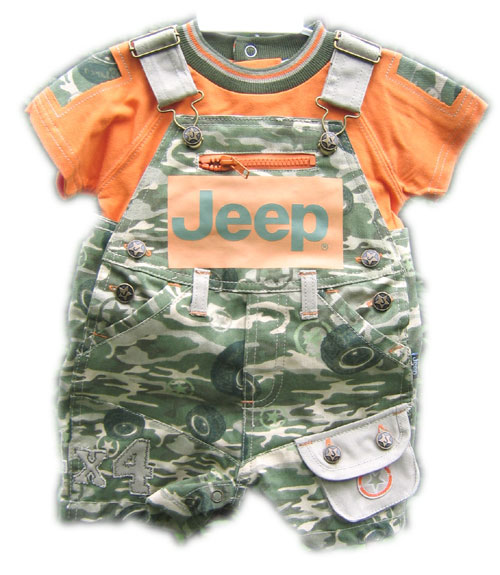 All Things Jeep Baby Clothing Camo Overalls