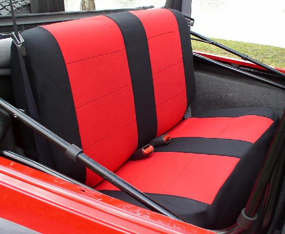 All Things Jeep Jeep Wrangler Tj Neoprene Bench Seat