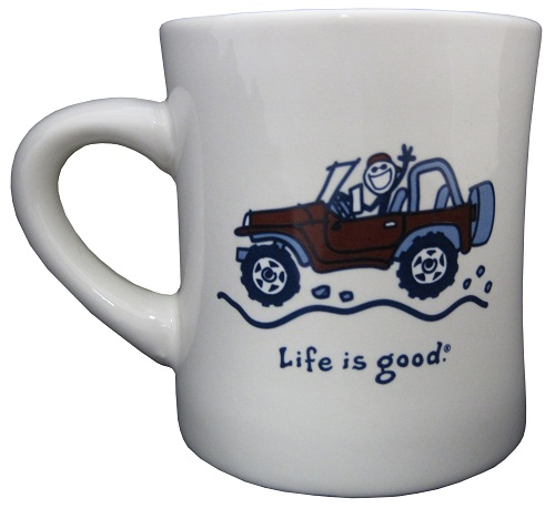 All Things Jeep Life Is Good Quot Native Offroad Quot Coffee Mug