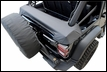 Storage Boot for Soft Top Jeep Wrangler JK 2D 2007-2016 by Rampage