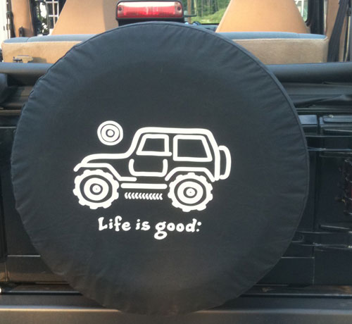 All Things Jeep Life Is Good Tire Cover Native Offroad