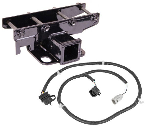 Jeep Wrangler Unlimited Towing Capacity >> All Things Jeep - Receiver Hitch with Wiring Harness Kit ...