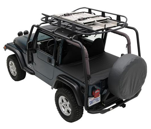 All Things Jeep Src Roof Rack 300 Lb Rating For Jeep