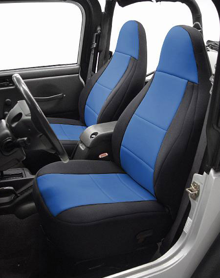 All Things Jeep Coverking Neoprene Front Seat Covers For