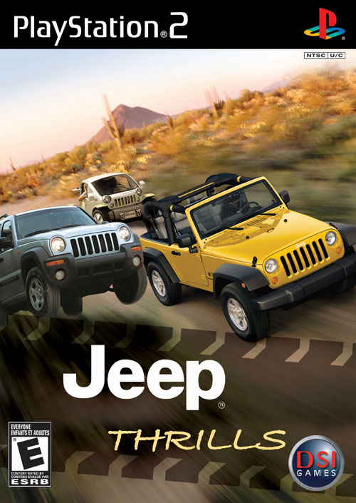 Jeep Thrills Video Game for the PlayStation 2 (PS2)