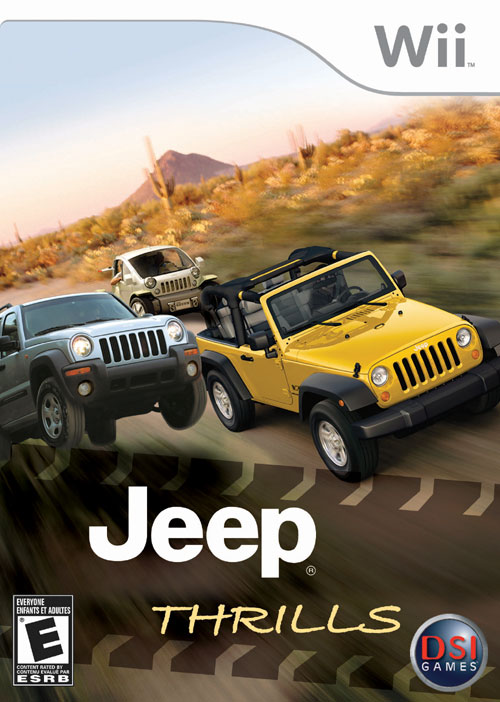 Jeep Thrills Video Game for the Wii