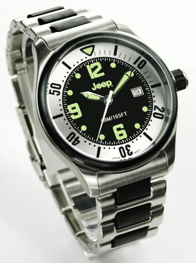 All Things Jeep Jeep Men S Watch Earth Series Black