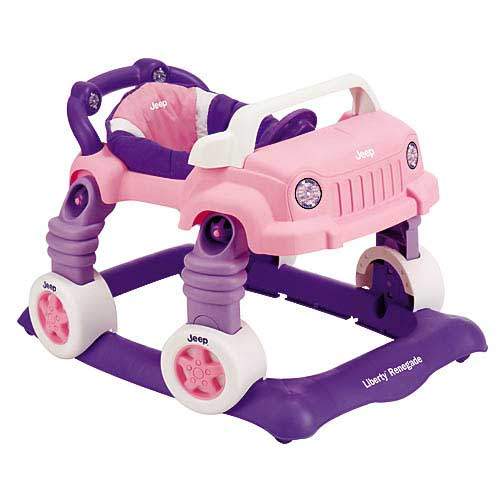 All Things Jeep Jeep Liberty Renegade Baby Walker Pink