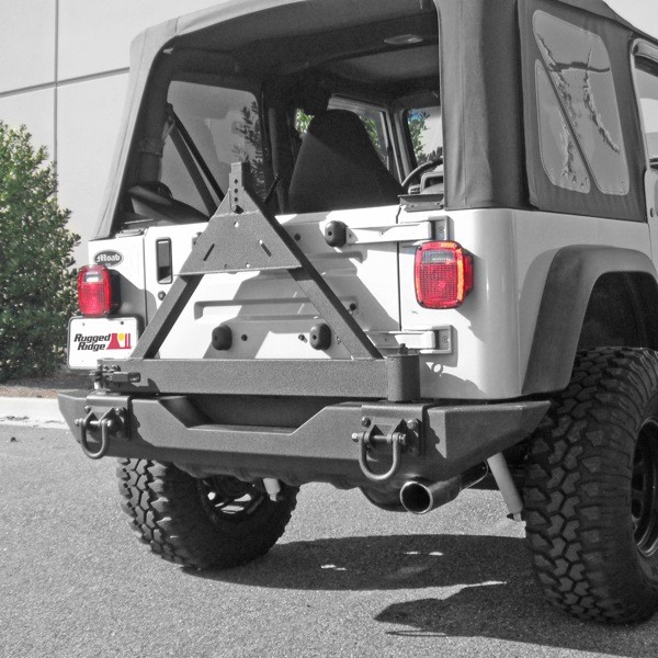 All Things Jeep Tire Carrier Add On For Xhd Rear Bumper