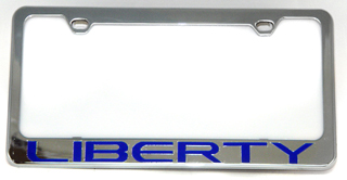 All Things Jeep Jeep Liberty License Plate Frame