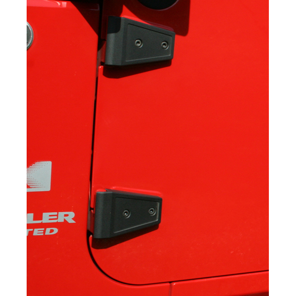 All Things Jeep Door Hinge Cover Set For Jeep Wrangler