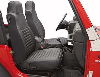 All Things Jeep Seat Covers Front For Wrangler Tj 2003