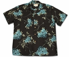 Asian Persuasion Black Hawaiian Shirt