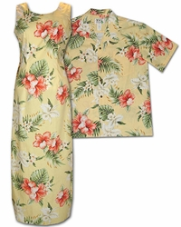 Enchantment Luau Matching Muumuus and Shirts