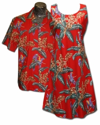 Jungle the Bird (Magnum PI) Matching Dress & Shirt