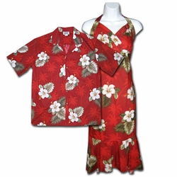 Kilauea Matching Hawaiian Dresses & Shirts