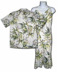 Bamboo Gardens Hawaiian Dresses and Shirts