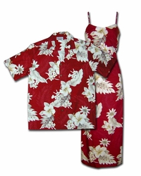 Floral Garden Hawaiian Dresses & Shirts