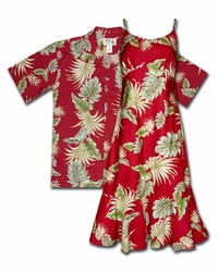 Island Enchantment Hawaiian Dresses & Shirts