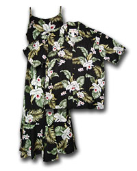Island Orchids Matching Shirts & Dresses