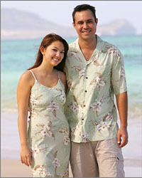 Kahala Beach Matching Dresses & shirts