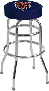 Chicago Bears Logo Bar Stool