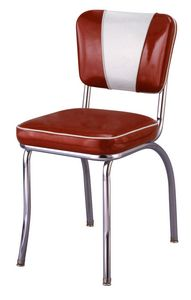 Retro Style Classic Diner Chair Set Of 2
