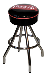 Coca Cola Fishtail Tepee Bar Stool