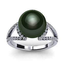 Eclipse Tahitian Pearl Ring