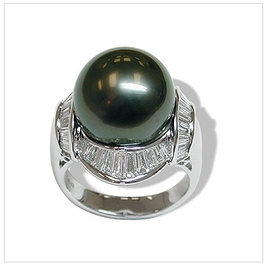 Voyage a Tahitian Cultured Pearl Ring