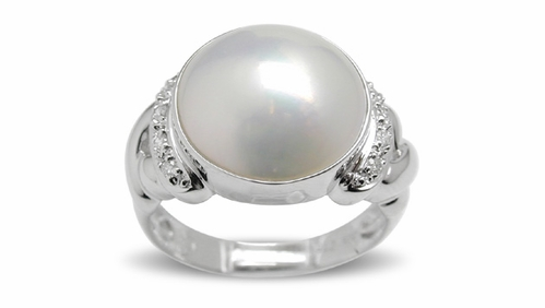 Mabe Pearl Rings