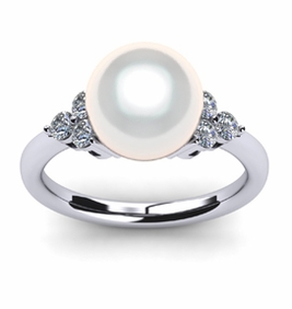 Princess South Sea Pearl Ring
