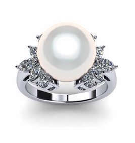 Electra South Sea Pearl Ring