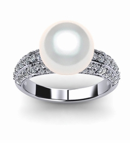 Eunice South Sea Pearl Ring